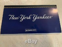 New York Yankees 2009 Yankee Stadium Inaugural Season Uncut Season Ticket Bookle