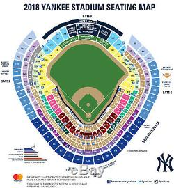 New York Yankees 4 Tickets ALDS Home Game 2