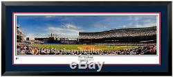 New York Yankees At Old Yankee Stadium In The Bronx Classic! Matted and Framed
