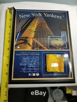 New York Yankees Authentic Foul Pole From Yankee Stadium (1923-2008)