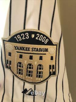 New York Yankees Authentic Jersey Mens 48 2008 Stadium All Star #18