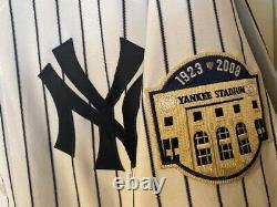 New York Yankees Chris Britton Game Used Jersey All Star/yankee Stadium Patch