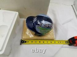 New York Yankees Danbury Mint Yankee Stadium Helmet With Stand