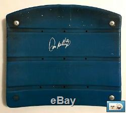 New York Yankees Don Mattingly Signed Yankee Stadium Seat Bottom MLB Authentic S
