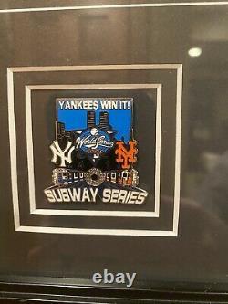 New York Yankees Framed World Series Champions 2000 Yankee Stadium Subway Series