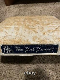 New York Yankees Game Used Base Vs Braves 6/27/06! Yankee Stadium