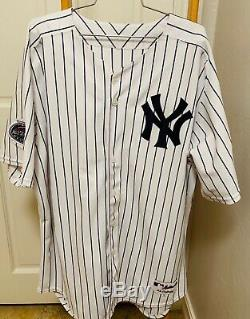 New York Yankees Home Jersey #2 With 2008 ASG And Stadium Patch. Size 52 NWT