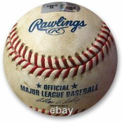 New York Yankees Old Yankee Stadium Game Used Baseball A-rod Mvp Season