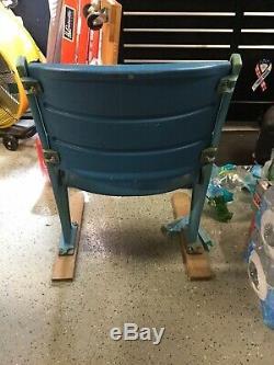 New York Yankees Old Yankee Stadium Seat Signed By Derek Jeter