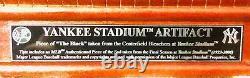 New York Yankees Stadium Artifact Piece With Custom Glass Case MLB & Steiner COA