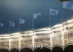 New York Yankees Stadium-used 1937 Champs Flag Dimaggio Gehrig Jeter