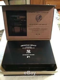 New York Yankees Watch Set/Limited Edition/Made from 1923 Stadium Seats