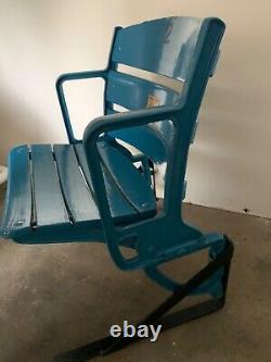 New York Yankees Wooden Stadium Seat Ruth Gehrig Dimaggio Mantle Jeter Judge