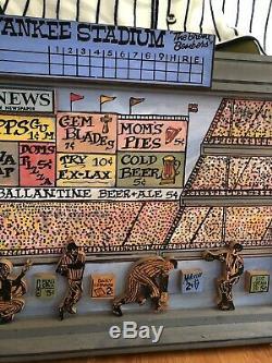 New York Yankees Yankee Stadium 1998 Harry Glaubach Original Artwork
