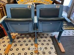 New York Yankees Yankee Stadium 2 Seat Section #7 Mantle # 8 Berra Steiner