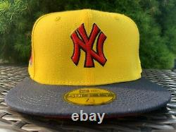 New York Yankees Yankee Stadium Patch Myfitteds New Era Fitted Cap 7 1/4