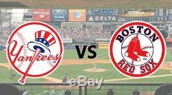New York Yankees vs Boston Red Sox at Yankee Stadium Aug 4, 2019 at 705PM