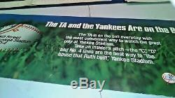 Nyc Subway Sign Poster Yankee Stadium New York Yankees Transit Authority Ny Ny