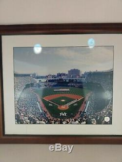 Old Yankee Stadium New York Portrait Frame opening day Picture 28.5x24.5 Inch