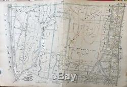 Orig 1885 Bronx New York Driving Future Home Of Yankee Stadium Club Atlas Map