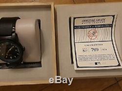 Original Grain 1923 New York Yankees Stadium Wood Seat Watch Never Worn