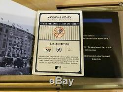 Original Grain New York Yankees Stadium Watch 1923 Seats Players Edition 59/150