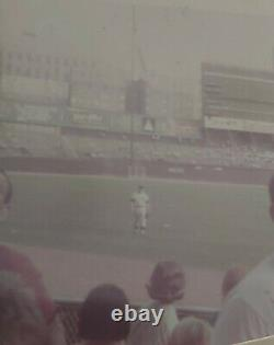 Original New York Yankees Baseball Photo Lot 1965 Mickey Mantle Day Stadium 9/18