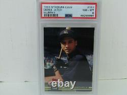 PSA 8 1993 Topps Stadium Club Murphy #117 Derek Jeter New York Yankees