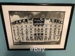 PSA/DNA New York Yankees Multi Signed Autographed Print Yankee Stadium Framed