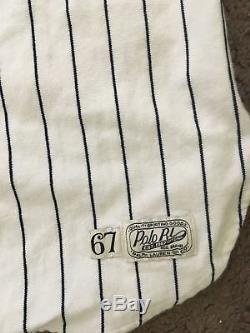 Polo Ralph Lauren Bear Stadium CP-93 Baseball New York Yankees Jersey Shirt XL