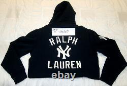 Polo Ralph Lauren Stadium 1992 Navy Polo New York Yankees Hoodie Large L MLB