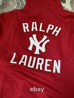 Polo Ralph Lauren Stadium 1992 Red Polo New York Yankees Hoodie XLarge XL palace