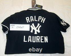 Polo Ralph Lauren Stadium New York Yankees Polo Shirt Crest 1992 Medium M bear