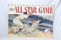 RARE! July 13, 1960 New York Yankees All Star Game Program Yankee Stadium