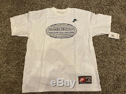 Rare Vintage Nike Last Year New York Old Yankees Stadium T-Shirt New Medium