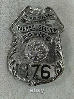 Rare Yankee Stadium Special Police Badge New York Yankees vintage 1950's