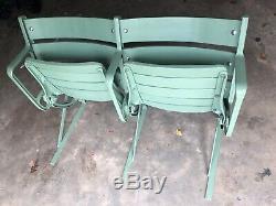 Real New York Yankee Stadium Seats 1944-1973 Restored to Green Babe Ruth NY