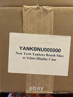 Steiner Authentic Piece of Original New York Yankees Stadium Home Dugout Bench