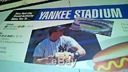 VINTAGE NYC SUBWAY SIGN POSTER YANKEE STADIUM NEW YORK YANKEES TRAIN 161s ST. NY