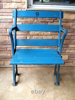VINTAGE YANKEE STADIUM SEAT 9 Jeter Maris Mantle Gehrig DiMaggio New York Ruth