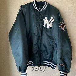 Valuable York Yankees Stadium Jacket Nylon Size L