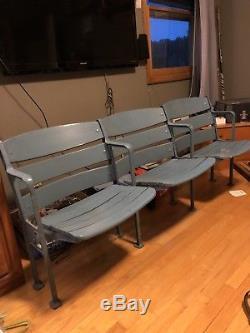 Vintage New York Yankee Stadium Seats -1974 Modernization