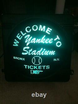 Welcome To Yankee Stadium Bronx New York Traffic Light Sign Sports Novelty