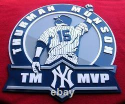 YANKEES 3D Thurman Munson sign art Jersey New York Baseball Stadium NY Jeter 16i