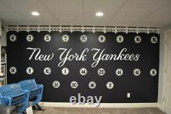 YANKEES 3-D Facade 3D SIGN ART Stadium fence baseball sox New York NY Park
