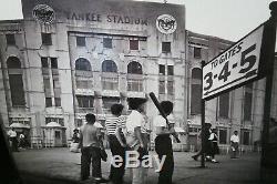 Yankee Boys New York Yankee Stadium Framed Picture 34 x 28 Bronx NY 1940s
