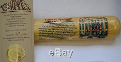 Yankee Stadium Cooperstown Bat Stadium Series Bat New York Yankees