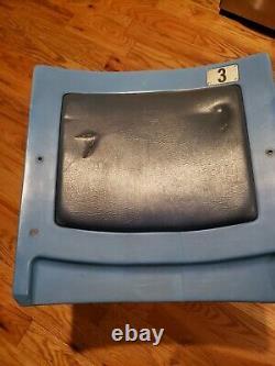 Yankee Stadium Field Box Seat Back Mlb Auth. #3 New York Yankees