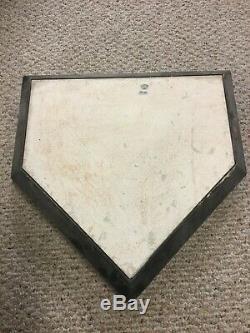 Yankee Stadium Game Used Bullpen Home Plate New York Yankees 2012 Steiner MLB