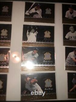 Yankee Stadium Legacy Collection Memorabilia Lot. New York Yankees Jersey Cards